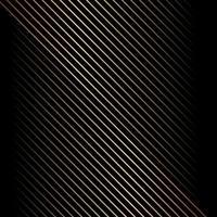 motif abstrait de lignes diagonales or sur fond noir et texture. vecteur