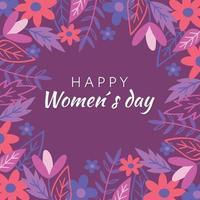 journée internationale des femmes vecteur