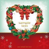 fond de modèles de décoration de carte de Noël. illustration vectorielle. vecteur