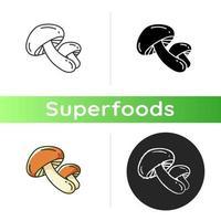 icône de champignons shiitake