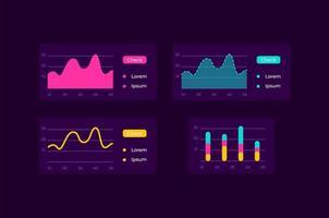 kit d'éléments d'interface utilisateur infocharts