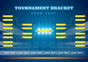 Affiche du support de tournoi