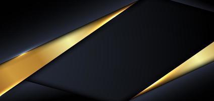 modèle de conception de bannière abstraite vecteur