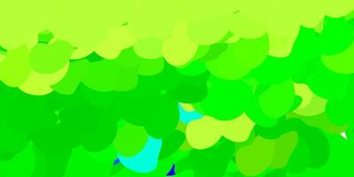 modèle vectoriel vert foncé avec des formes abstraites.
