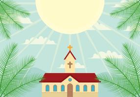 Fond du dimanche des Rameaux