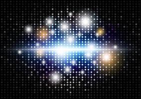 illustration vectorielle de fond abstrait disco lumière moderne vecteur