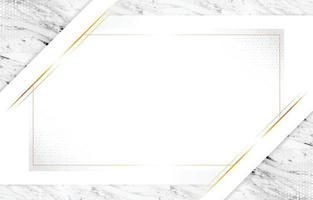 fond élégant en marbre blanc vecteur