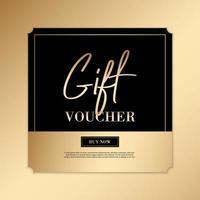 invitations vip de luxe et arrière-plans de coupon vecteur
