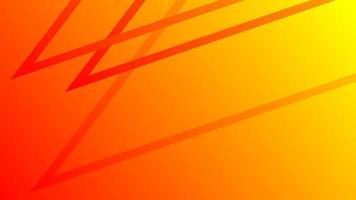 abstrait de lignes orange