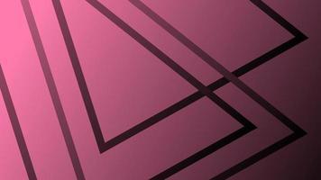 fond géométrique noir rose