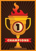 champions vecteur