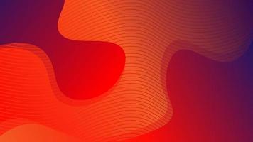 fond de ligne de vague enveloppé dans un fluide abstrait