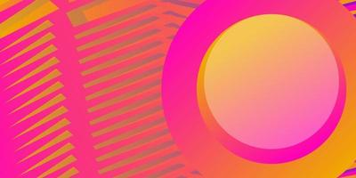 Élément de cercle abstrait avec fond net