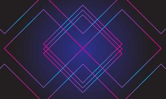 fond abstrait de lignes lumineuses au néon