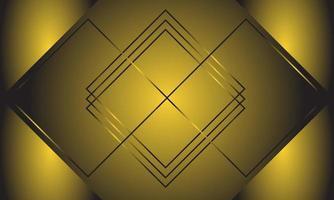 abstrait de ligne légère avec thème de luxe de couleur or