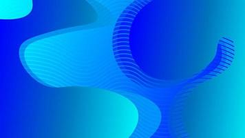 motif abstrait vague liquide enveloppé de rayures bleues