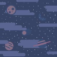 Contexte galactique vecteur