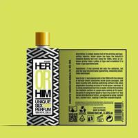 cosmétiques uniques parfum de sexe, conception de modèle de paquet, conception d'étiquettes, modèle d'étiquette de conception de maquette de parfum vecteur