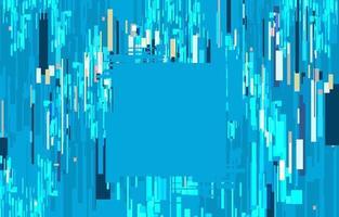 fond abstrait pépin numérique bleu vecteur