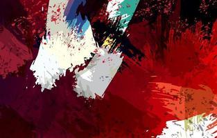 concept de fond abstrait beaux-arts vecteur