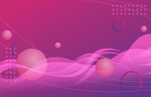 fond abstrait vague violette vecteur