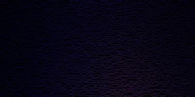 toile de fond de vecteur violet foncé, rose avec des lignes pliées.