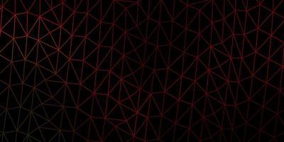 fond de mosaïque triangle vecteur vert foncé, rouge.
