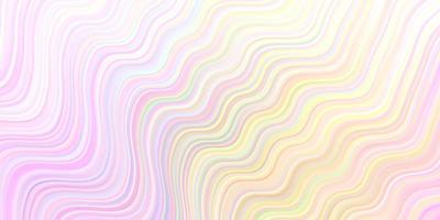 toile de fond de vecteur multicolore clair avec des lignes ironiques.