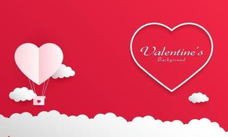 fond de joyeux saint valentin