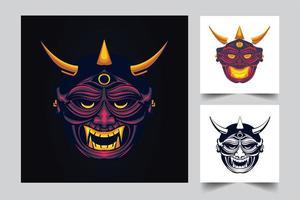illustration de l'oeuvre du diable satan vecteur