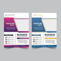 conception de modèle de flyer d'entreprise