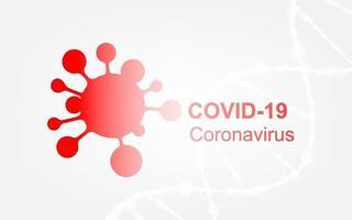 maladie à coronavirus infection à covid-19 médical vecteur
