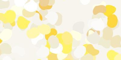 fond jaune clair avec des formes aléatoires
