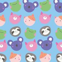 joli petit motif animal kawaii