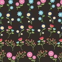 beau fond de motif décoratif floral