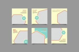 modèle de conception de bannière simple vecteur