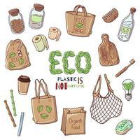 collection d'éléments éco
