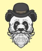panda vieil homme