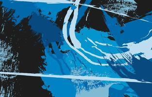 peinture abstraite de beaux-arts vecteur