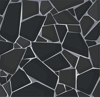 fond d'écran de texture de gravier noir. illustration vectorielle eps10 vecteur