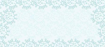 fond de virus corona vecteur
