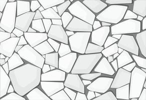 fond d'écran de texture de gravier blanc. illustration vectorielle eps10 vecteur