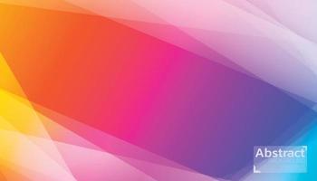 Le lever du soleil de fond abstrait couleur peut être utilisé dans une affiche, une bannière, un dépliant et un site Web. vecteur