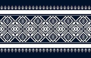 conception traditionnelle de motif ethnique géométrique vecteur