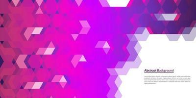 motif de fond abstrait avec des formes géométriques