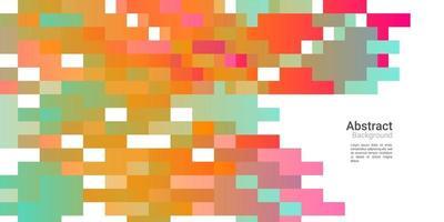 fond décoratif abstrait avec dégradé coloré vecteur