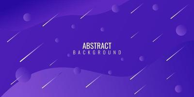 moderne abstrait violet dégradé géométrique vecteur