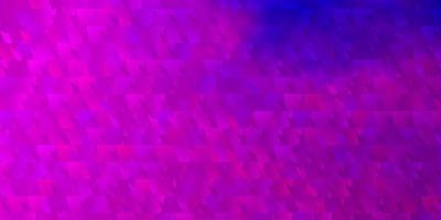 fond de vecteur violet clair, rose avec des triangles.