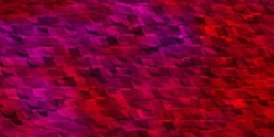toile de fond de vecteur rose clair avec des lignes, des triangles.