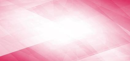 bannière géométrique rose chevauchant fond et texture. vecteur